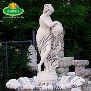 Nagy női szobros szökőkút eladó