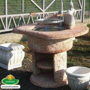 Kőből kerti sütő