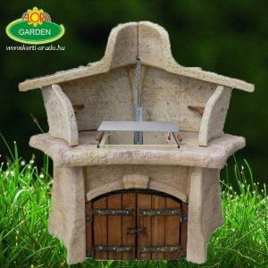Luxus kerti grillező családi