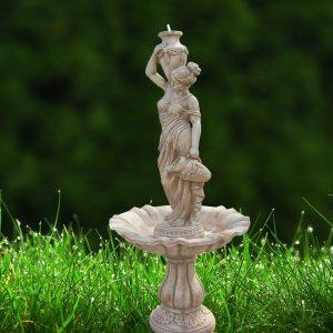 Saját antikolású szökőkút szoborgyártás