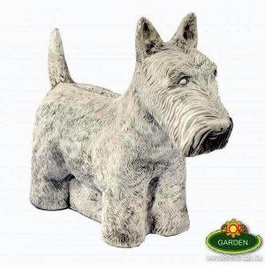 Terrier kutya szobor