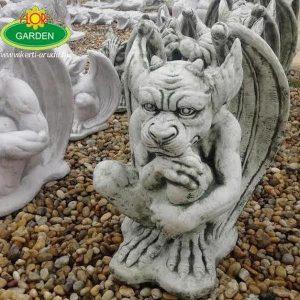 Troll őrző szobor