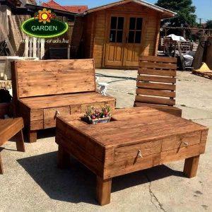 Modern kerti bútor akciós szett