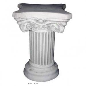 Görög díszoszlop kőből