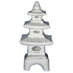 Három emeletes kerti lámpás