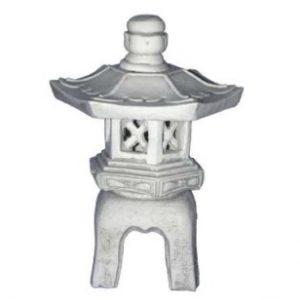 Kerti lámpa kőből