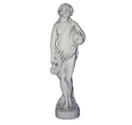 Kétkorsós vízöntő női szobor