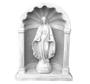 Mária oltárházzal