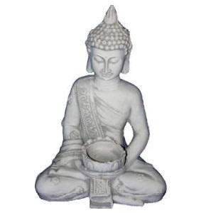 Mécses tartós Buddha szobor