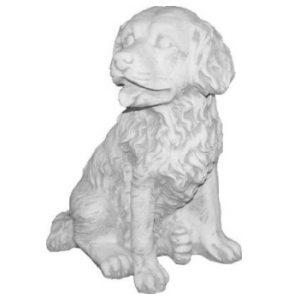 Kutya kerti szobor