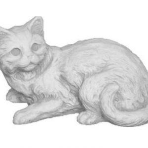 Kerti állatfigurák cica szobor